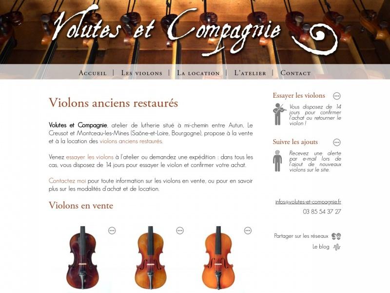 Volutes et Compagnie - La Chapelle sous Uchon
