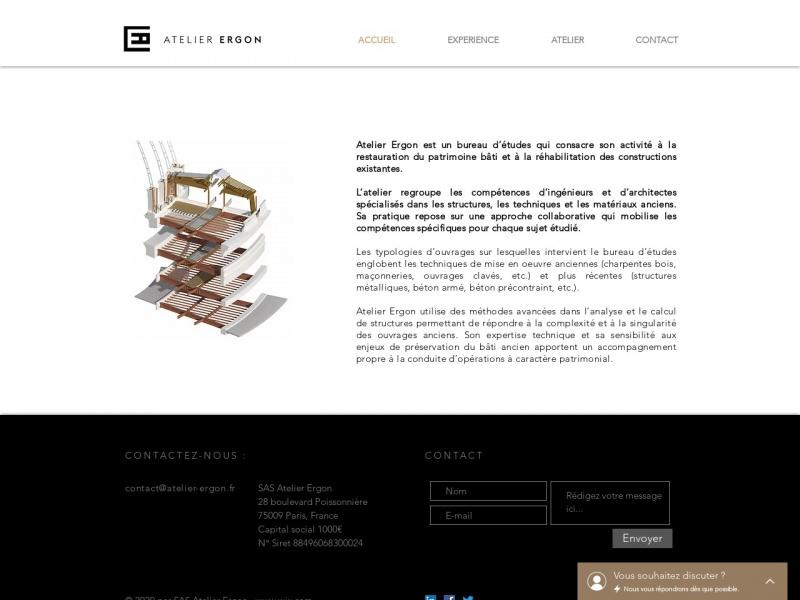 Atelier Ergon - Paris 9e
