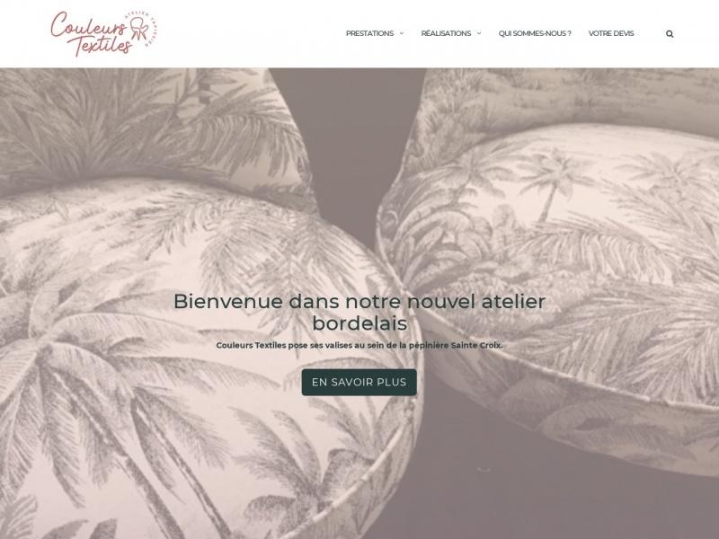 Couleurs Textiles - Bordeaux