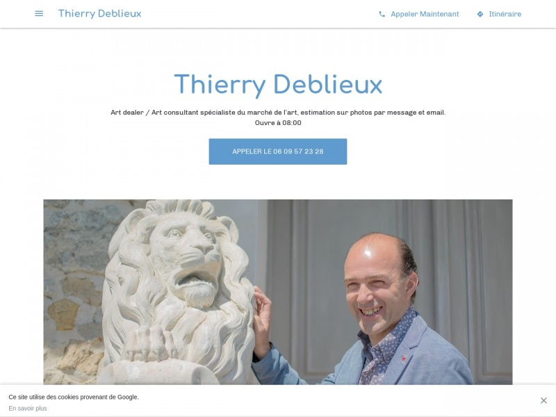 Thierry Deblieux - gallerythierrydeblieux.jimdofree.com