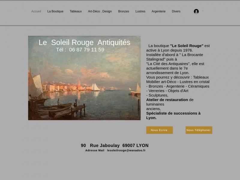 Le Soleil Rouge - Philippe Gilbert - Lyon 7e
