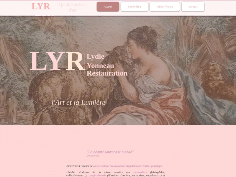 Lydie Yonneau Restauration - LYR - Thenac