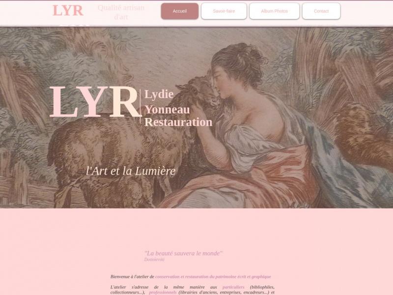 Lydie Yonneau Restauration - LYR - www.atelier-lyr.fr