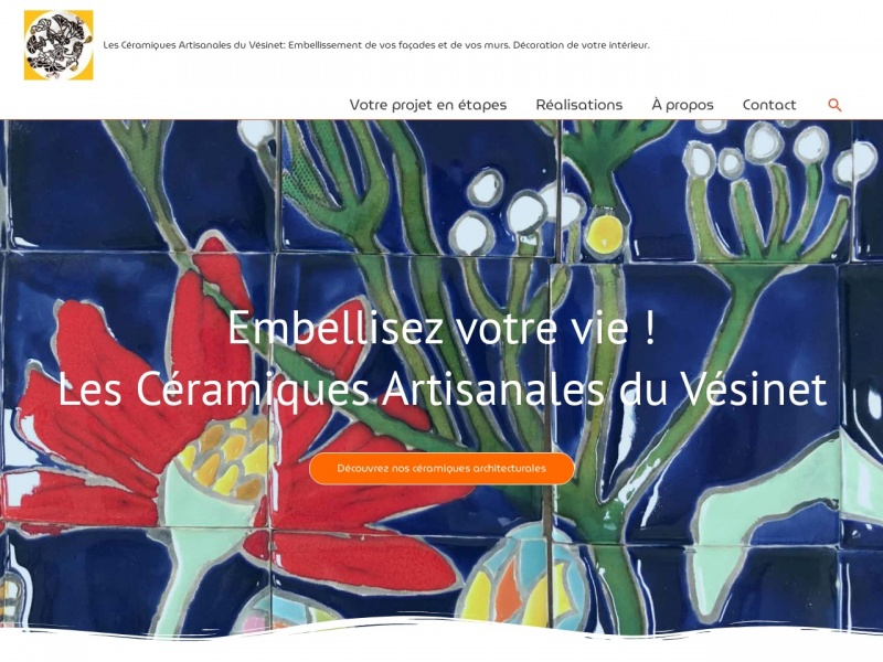 Laurence Brecher - www.ceramique-murale.com