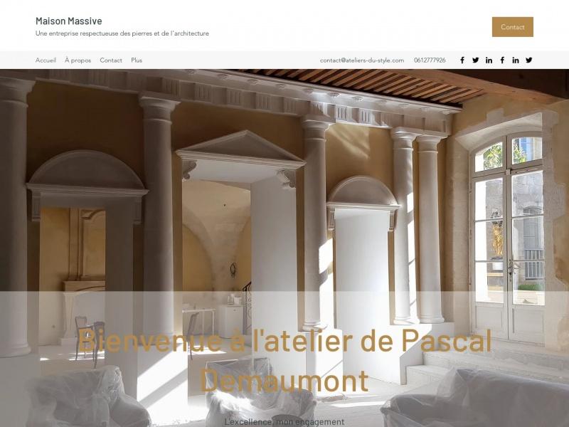 Maison Massive - Pascal Demaumont - Tarascon