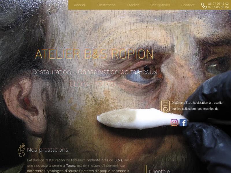 Atelier Ropion - www.atelierbsropion.fr