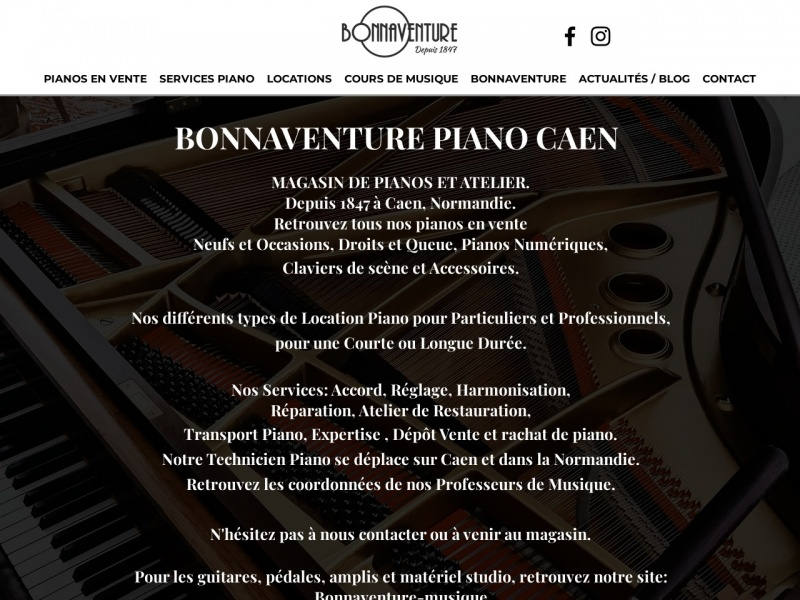 Bonnaventure Piano - Caen
