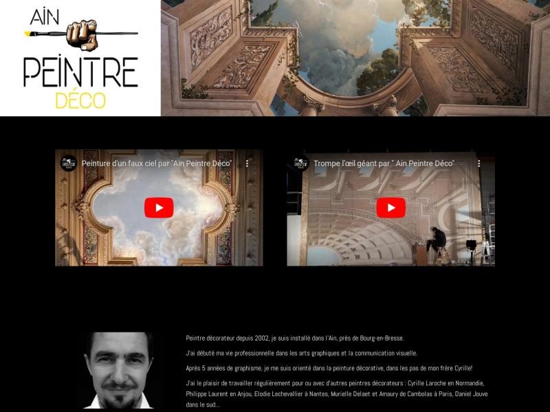 Ain Peintre Déco - Christian Laroche - Certines