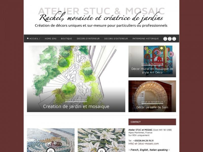 Rachel Casimir - Atelier Stuc et Mosaic - www.stuc-mosaic.fr