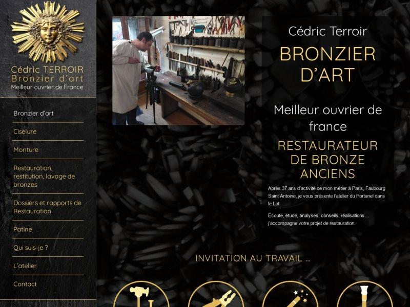 Cedric Terroir - Atelier du Portanel - www.atelier-bronze.com
