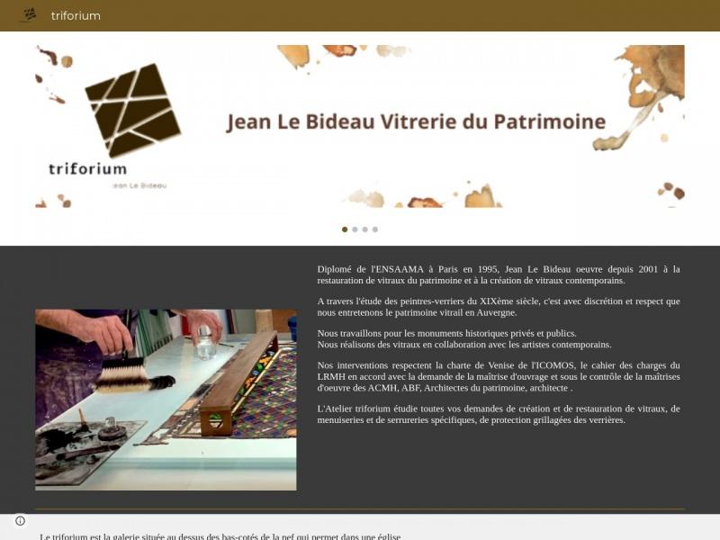 Jean le Bideau - Triforium - Royat