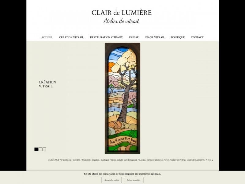 Clair de Lumière - Nathalie Gesell - La Chatre
