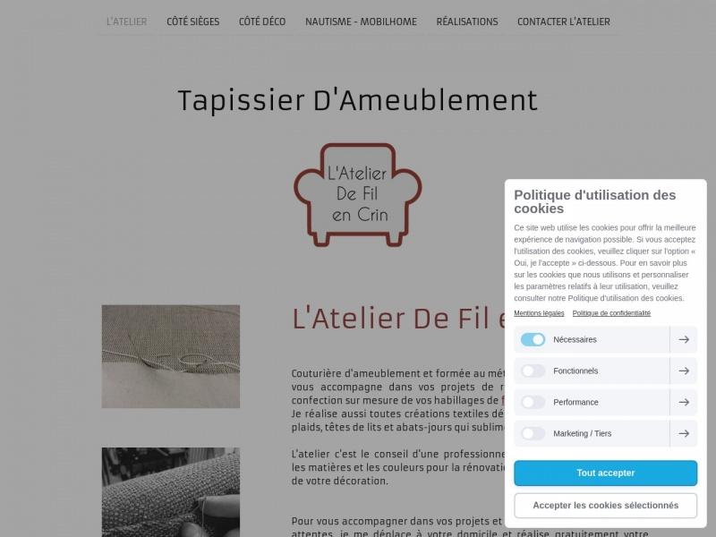 Valerie Blanloeil - L'Atelier de Fil en Crin - Challans