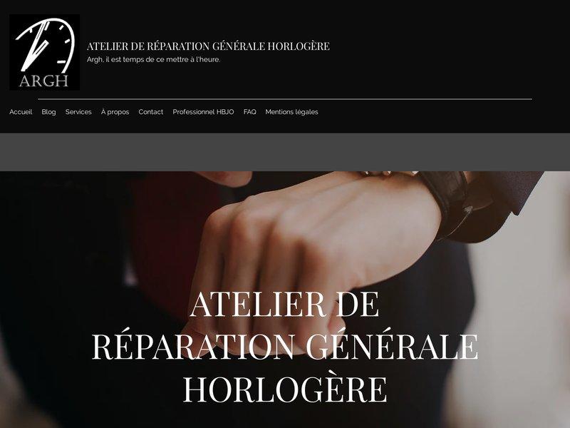 Atelier de Réparation Générale Horlogère - Garigny