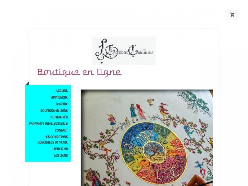 Sabrina Dejans Leroy - L'Ecritoire Enluminé - Saint Vincent de Barrès
